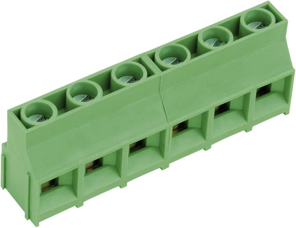 Skrueklemmeblok PTR AKZ841/8-9.52-V 4.00 mm² Poltal 8 Grøn 1 stk