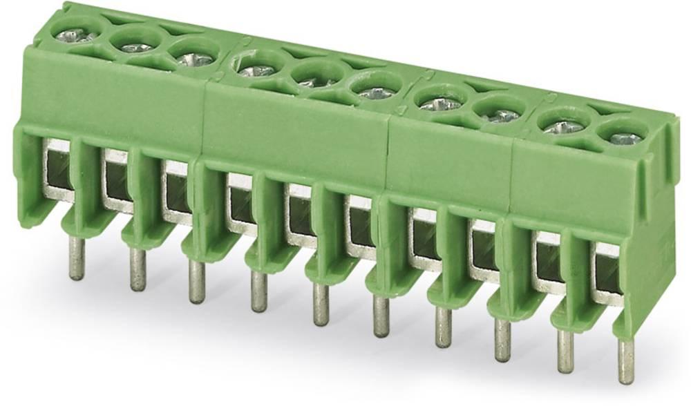 Skrueklemmeblok Phoenix Contact PT 1,5/ 4-3,5-H 1.50 mm² Poltal 4 Grøn 250 stk