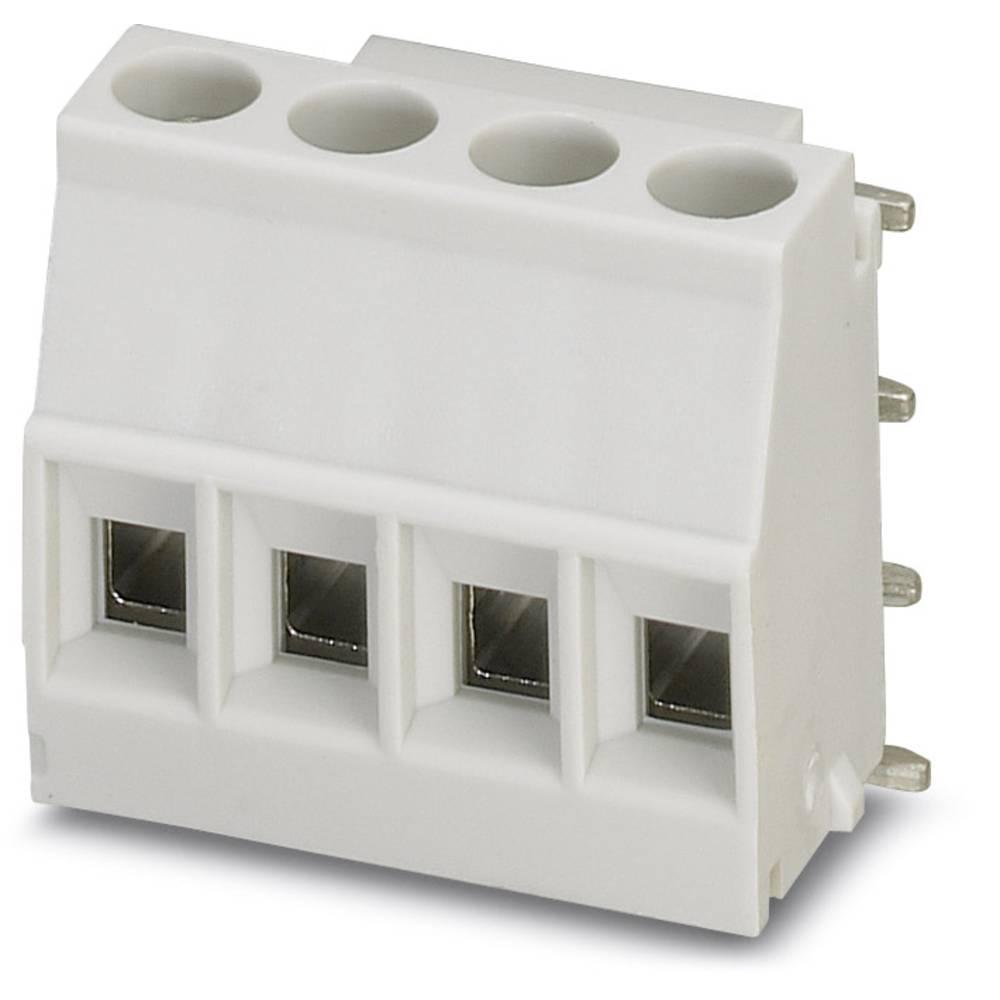 Skrueklemmeblok Phoenix Contact MKDSO 2,5/ 4-R KMGY VPE400 2.50 mm² Poltal 4 400 stk