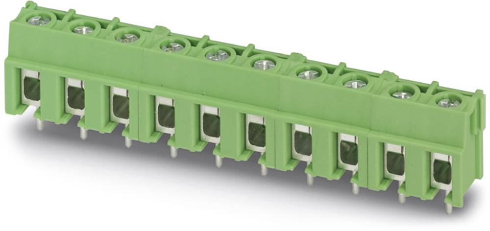 Skrueklemmeblok Phoenix Contact PT 2,5/ 3-7,5-H 4.00 mm² Poltal 3 Grøn 250 stk