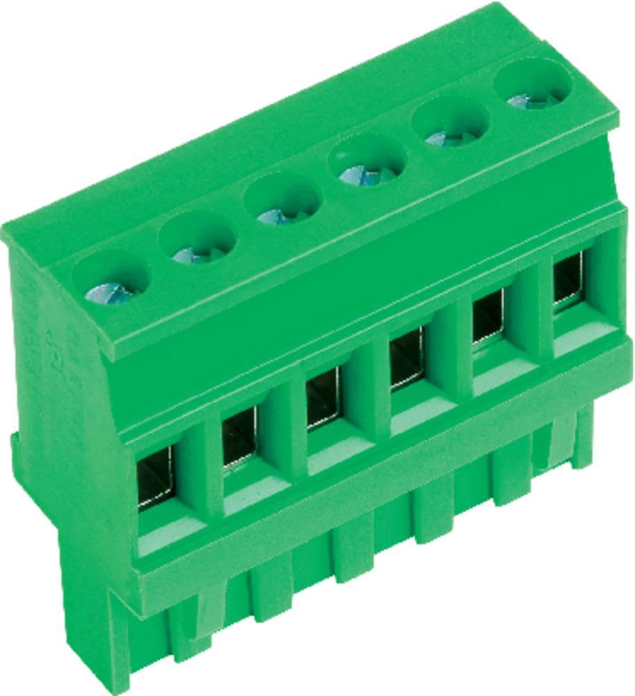 Tilslutningskabinet-kabel AK(Z)1100 Samlet antal poler 3 PTR 51100030001F Rastermål: 5.08 mm 1 stk