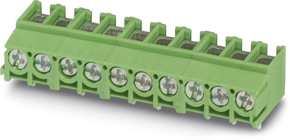 Skrueklemmeblok Phoenix Contact PT 2,5/ 4-5,0-V 4.00 mm² Poltal 4 Grøn 250 stk
