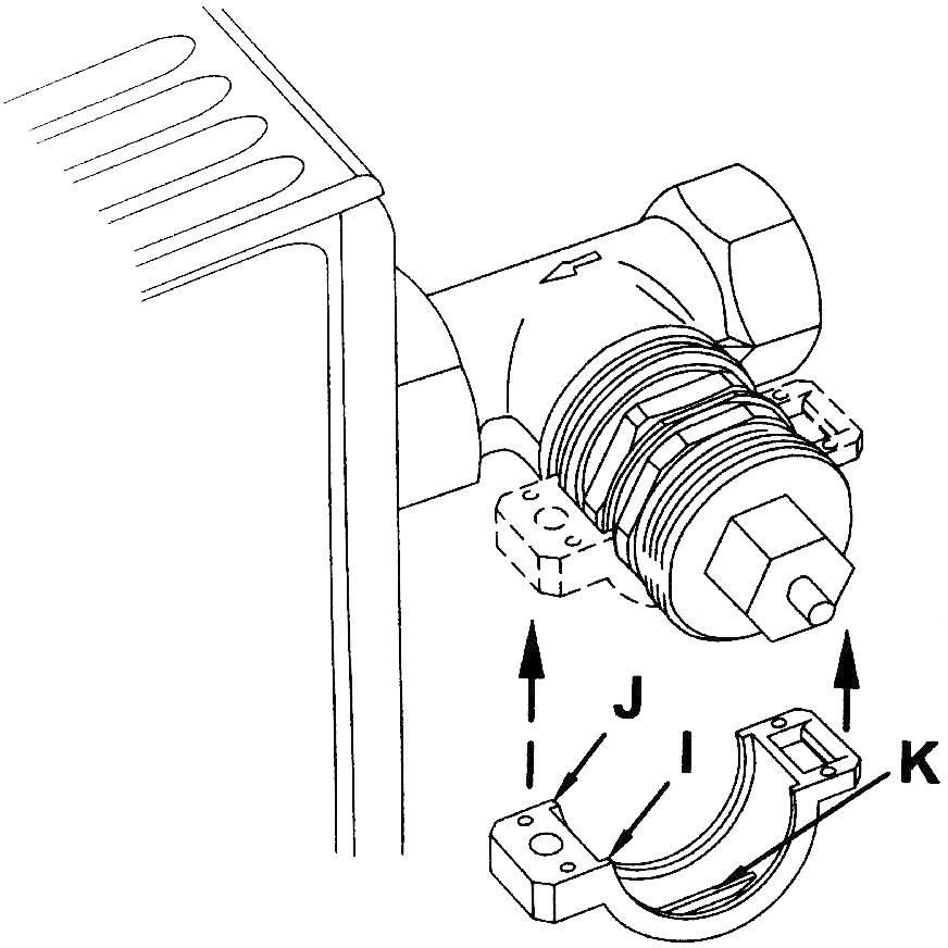 Radiator Valve Adapter Suitable For Radiators Danfoss Ravl