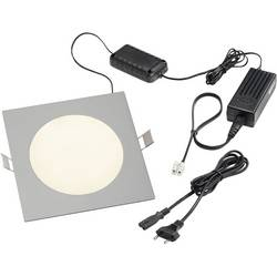 LED-indbygningslys Esotec 11 W Varm hvid Aluminium
