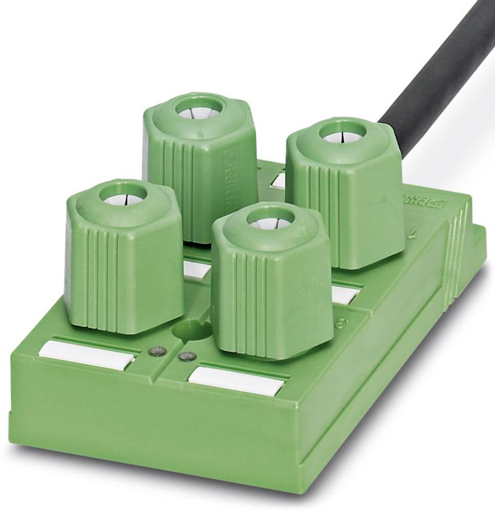 Sensor/aktorbox passiv QUICKON-fordeler SACB-4Q/4P-L-10,0PUR 1695236 Phoenix Contact 1 stk