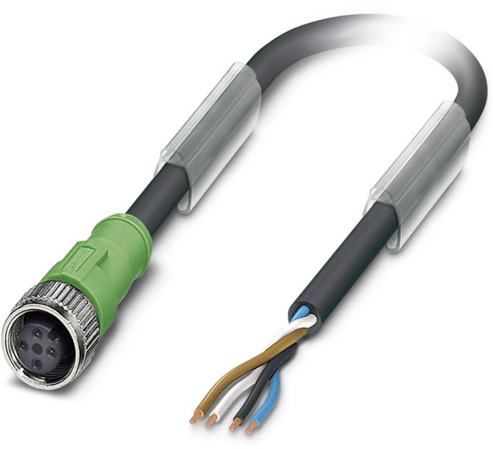 Senzorski/aktuatorski kabel SAC-4P-15,0-186/M12FS Phoenix Contact vsebuje: 1 kos