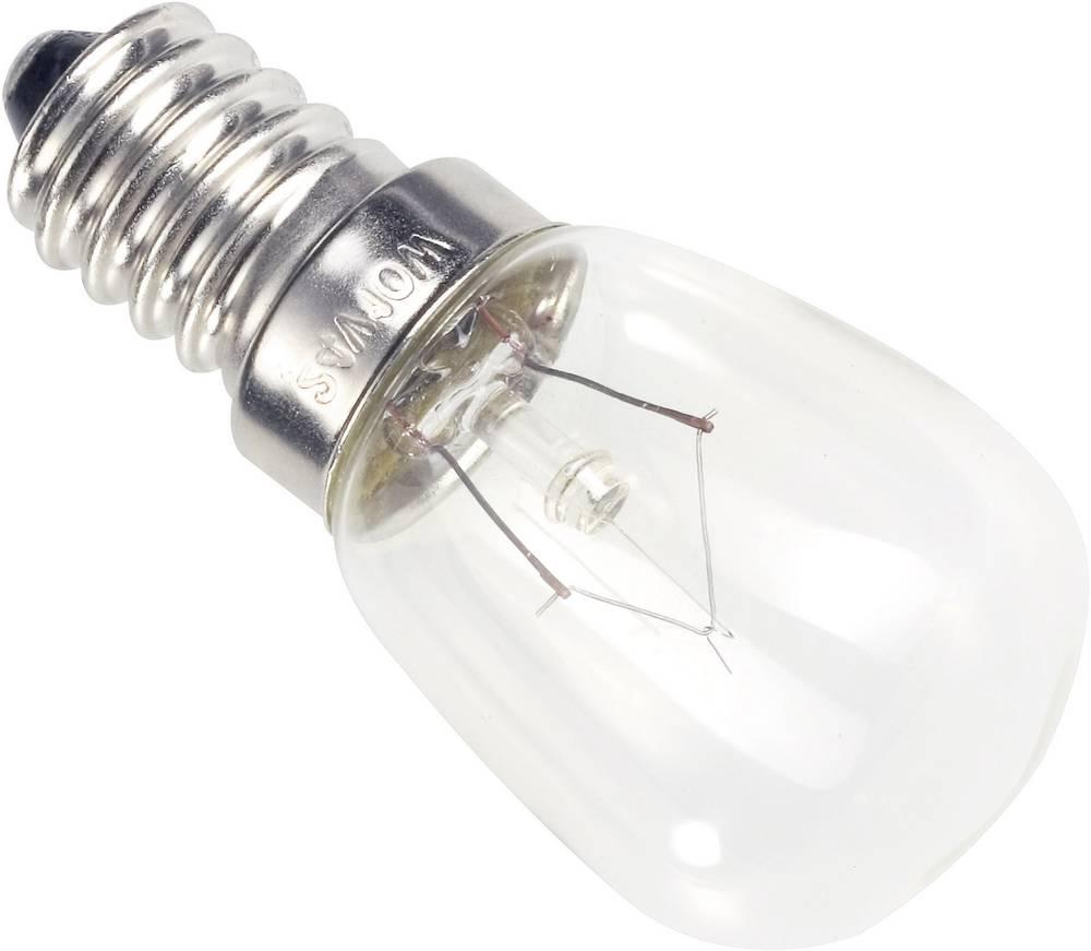 Industrijska žarnica 235 V 25 W 106 mA podnožje=E14 prozorna Barthelme vsebina: 1 kos