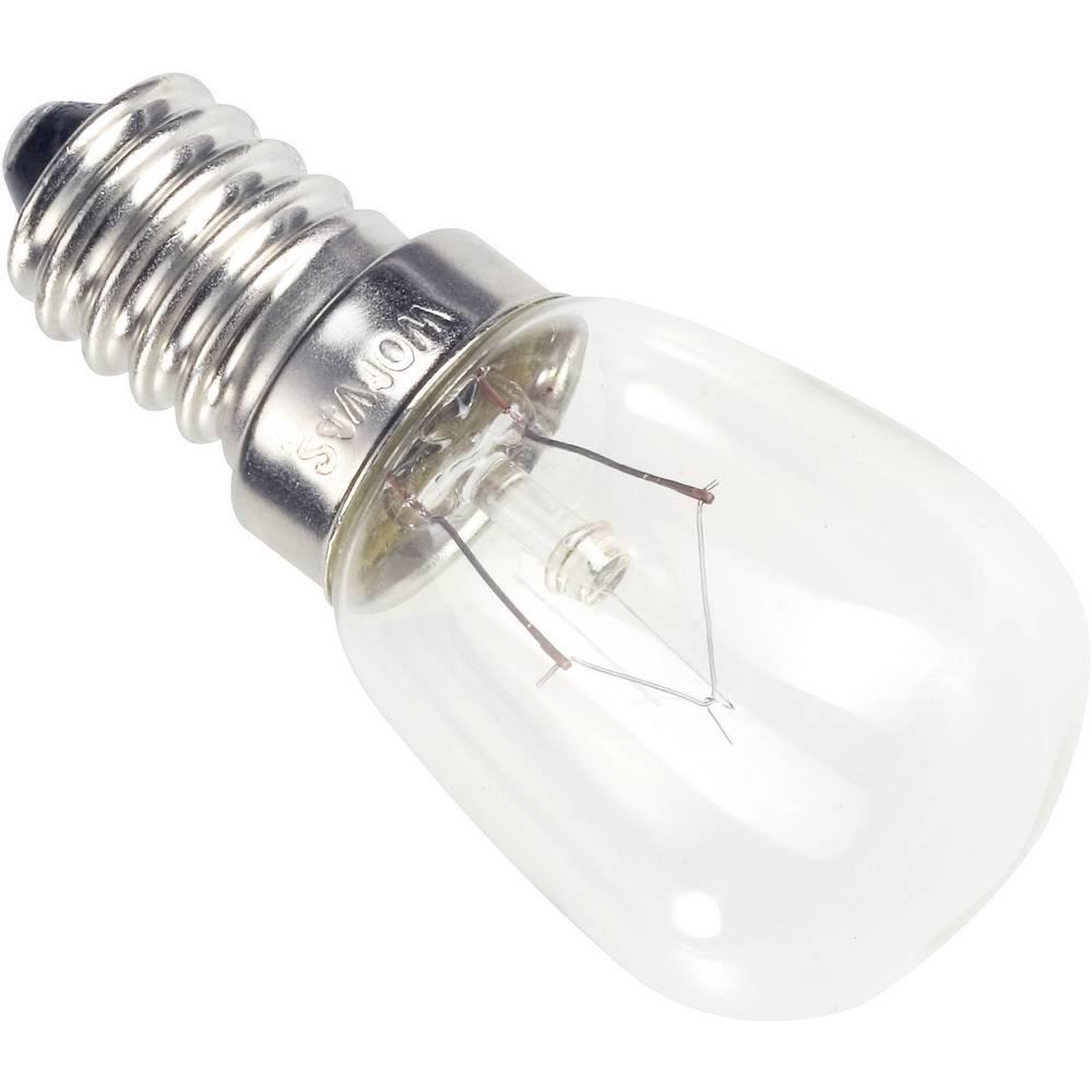Žarnica 24 V 10 W 417 mA podnožje=E14 prozorna 00982410 Barthelme