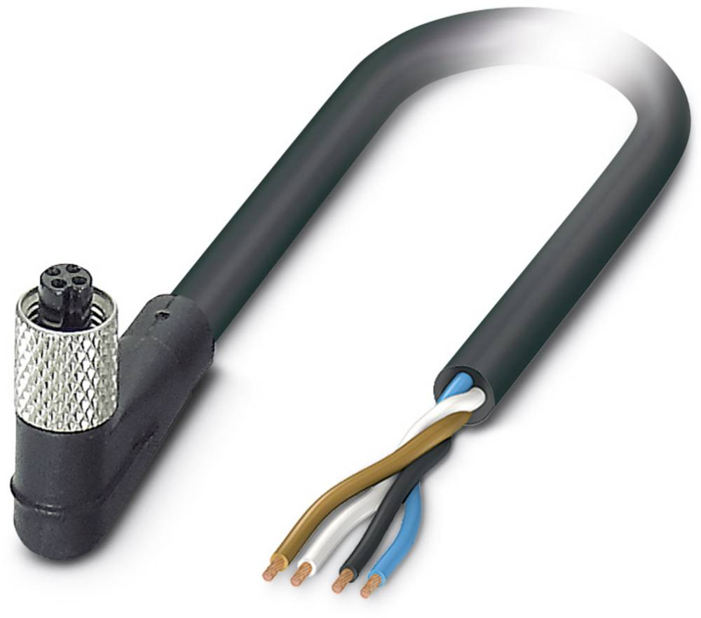 Sensor-, aktuator-stik, Phoenix Contact SAC-4P- 1,5-PUR/M5FR 1 stk