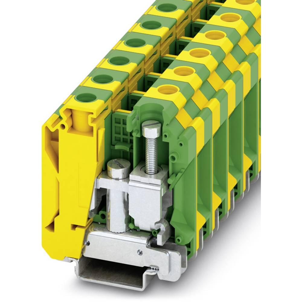 USLKG 35 N - beskyttelsesleder klemrække Phoenix Contact USLKG 35 N Grøn-gul 50 stk