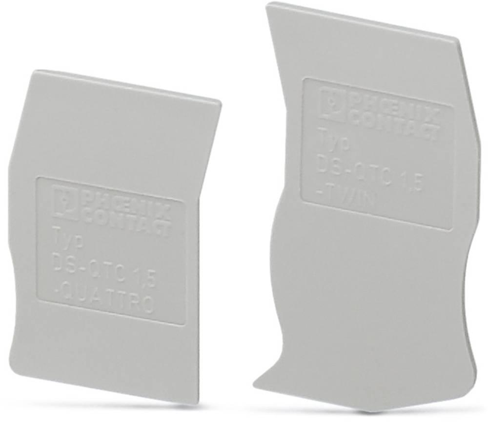 DS-QTC 1.5 - cap segmentet DS-QTC 1,5 Phoenix Contact Indhold: 50 stk