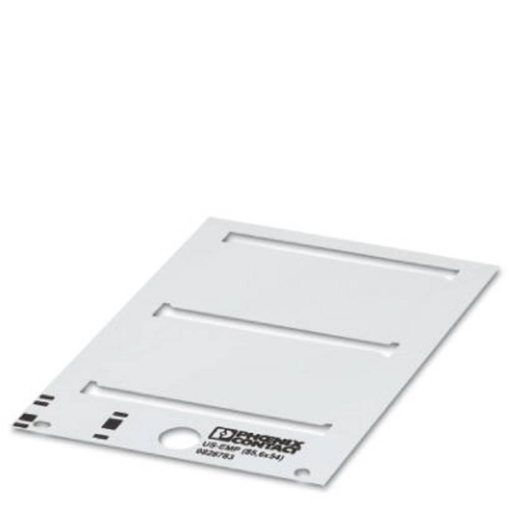 Makering af apparater Phoenix Contact US-EMP (100X15) SR 0829523 10 quire Antal markører 90 Sølv
