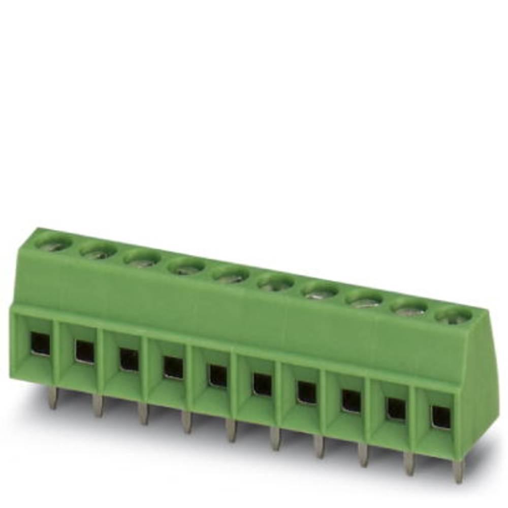 Skrueklemmeblok Phoenix Contact MKDS 1/ 3-3,81 1.50 mm² Poltal 3 Grøn 250 stk