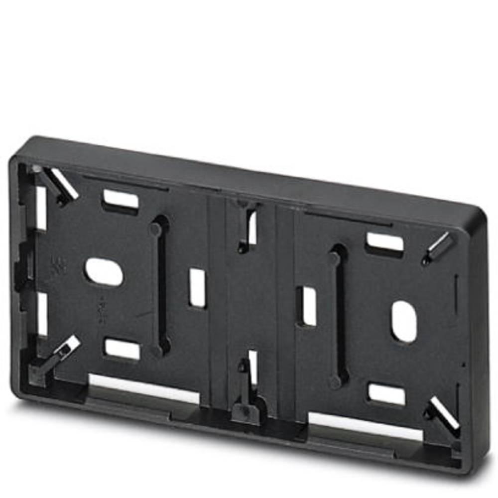 Označevalnik naprav, montaža: pripenjanje, površina: 60 x 30 mm primeren za serijo gumbi in stikala 22 mm črne barve Phoenix Con