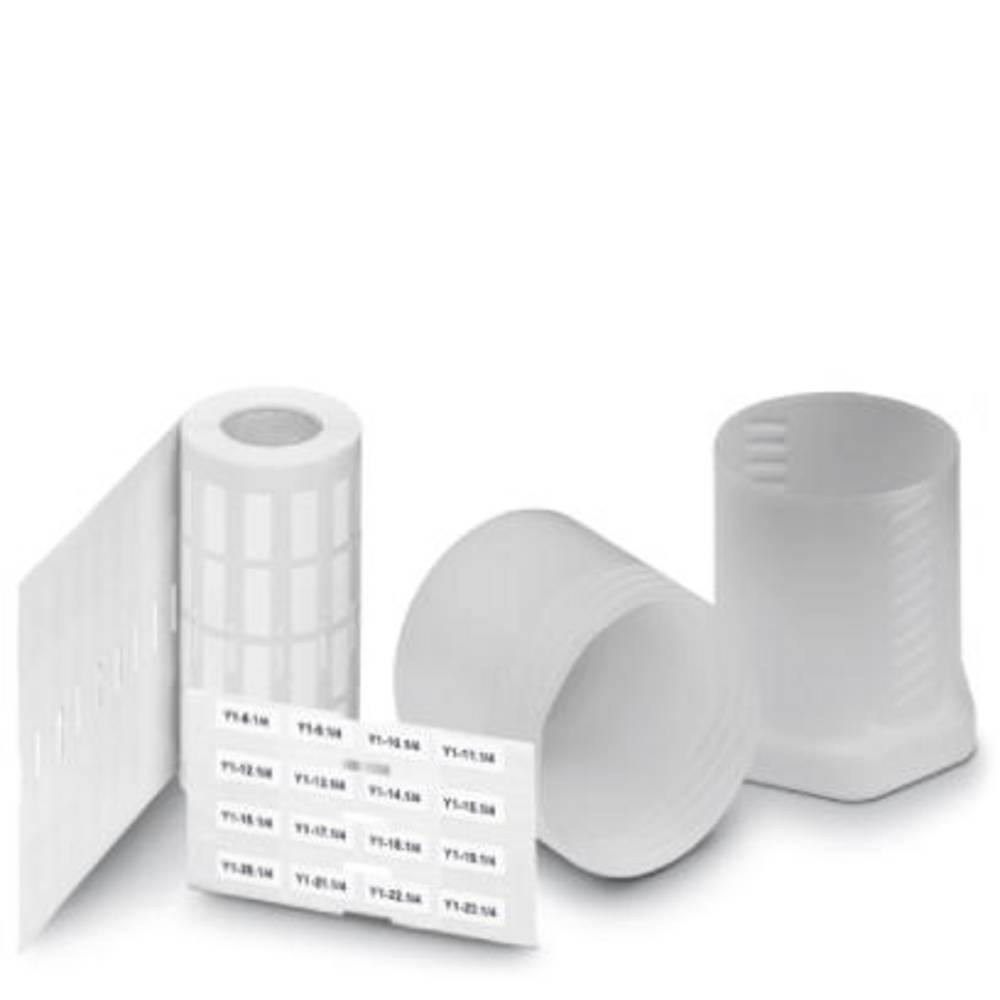 Makering af apparater Phoenix Contact EML (100X73) R 0817125 1 Rolls Antal markører 300 Hvid