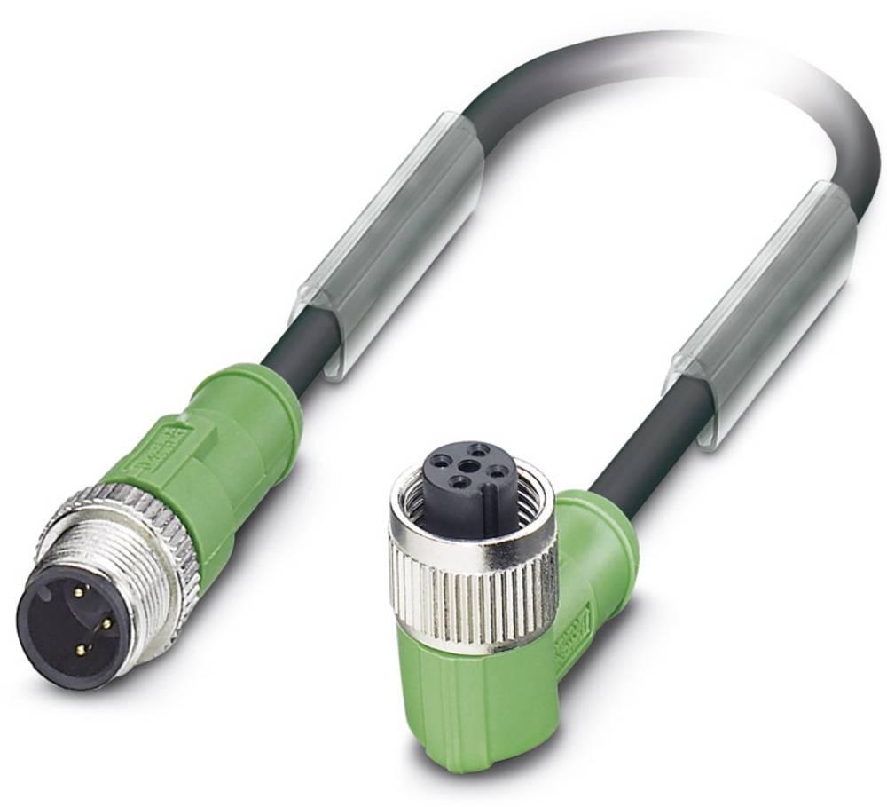 Senzorski/aktuatorski kabel SAC-3P-M12MS/ 0,6-PUR/M12FR B Phoenix Contact vsebuje: 1 kos