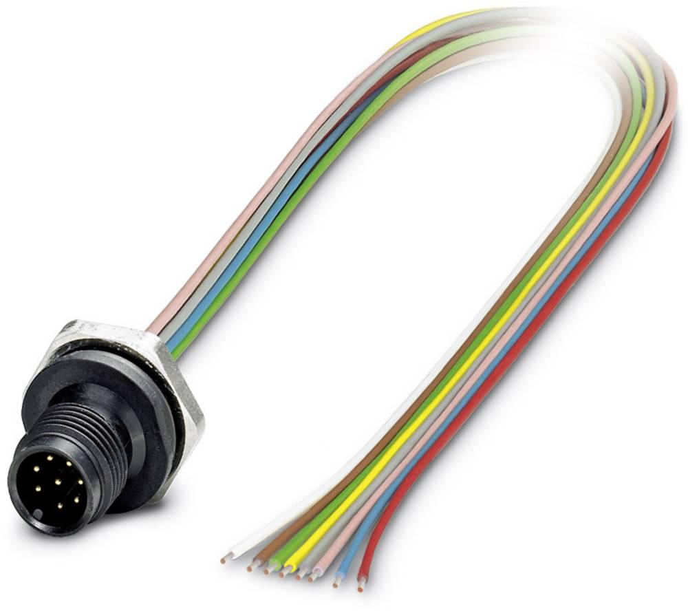SACC-DSI-M12MST-4CON-M16/0,5 - vgradni vtični konektor, SACC-DSI-M12MST-4CON-M16/0,5 Phoenix Contact vsebuje: 1 kos