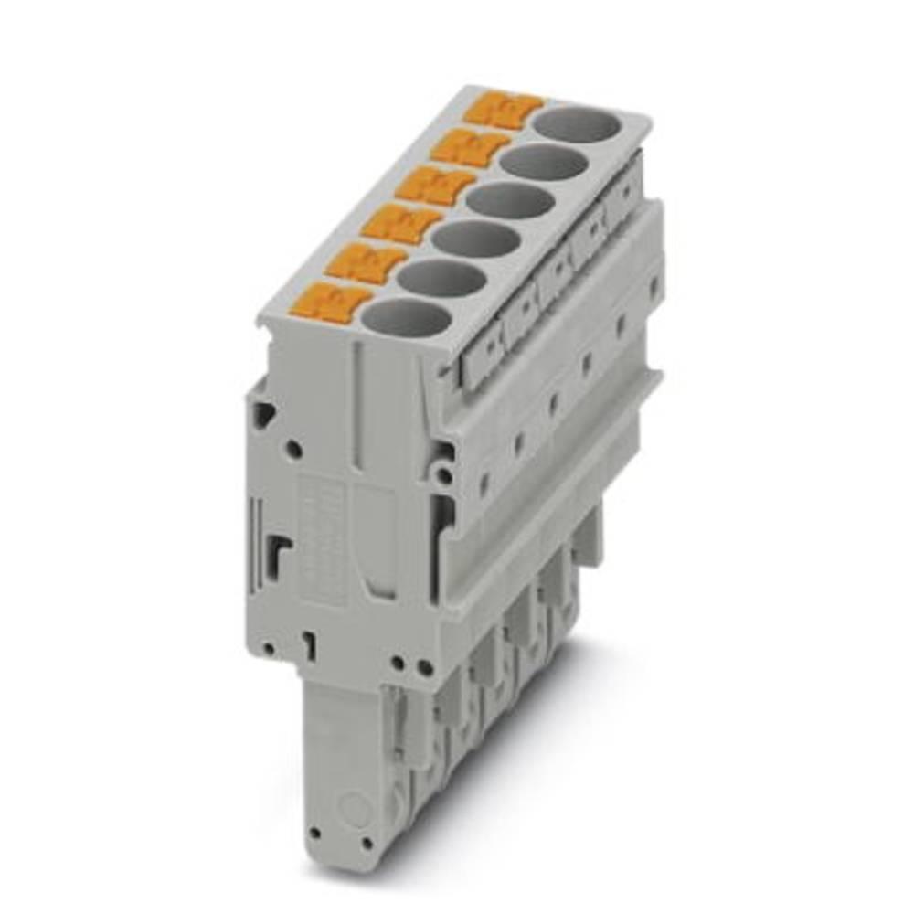 Plug PP-H 6/ 6 Phoenix Contact PP-H 6/ 6 Grå 25 stk
