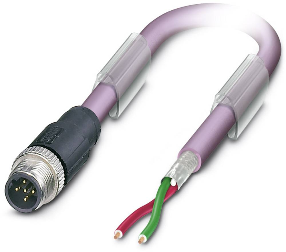 Sensor- /aktor- -datastikforbindelse, konfektioneret Phoenix Contact SAC-2P-M12MSB/ 2,0-910 1 stk