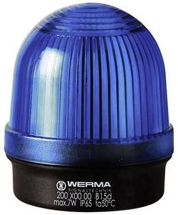 SIGNALNA SVETILKA BM 12-240 V/AC MODRA Werma Signaltechnik 200.500.00
