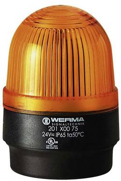 Bljeskalica BM 24 V/DC žuta Werma Signaltechnik 202.300.55