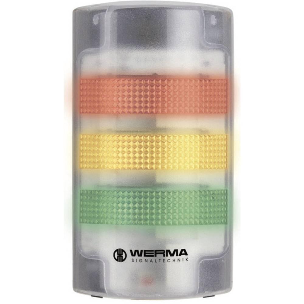 LED-signalni stub, pločat, proziranan 691.100.55 Werma Signaltechnik