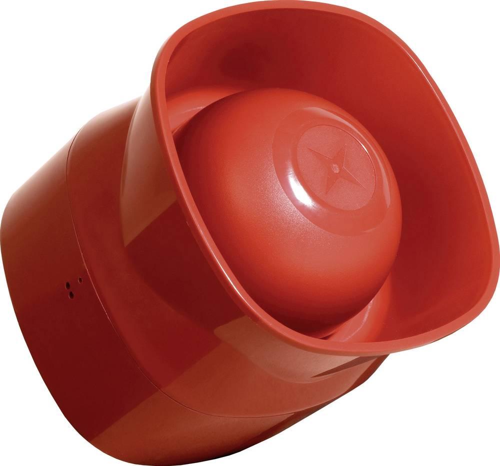 Visokonaponska sirena ComProSymphoni 12 - 30 V/DC SchutzartIP6, crvena SY/IP/R/E
