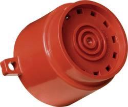 COMPRO Electronic večtonski zvočnik Askari Flange barva rdeča, zaščita IP65 zvočni signal, 32 tonov AF/R