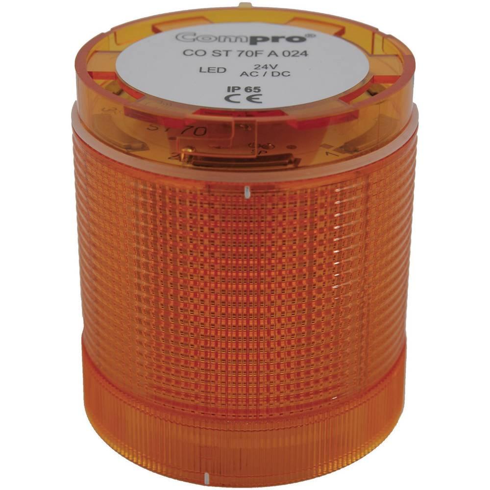 ComPro CO ST 70 AL 024 4F -LED Element signalnog stuba 24V DC/AC, žut IP65