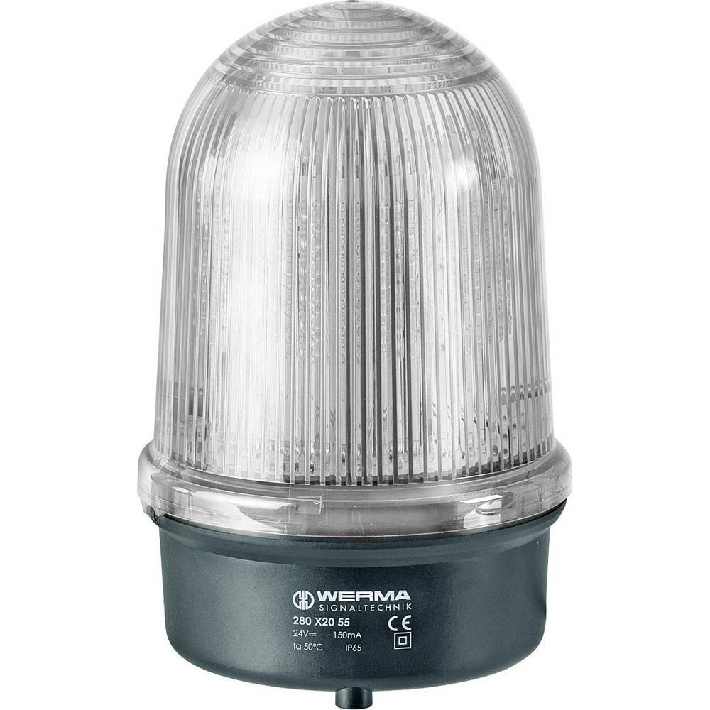 Werma Signaltechnik 280.460.55 LED-EVS-Signalno svjetlo 28024 V/DC, 500 mA, prozirno