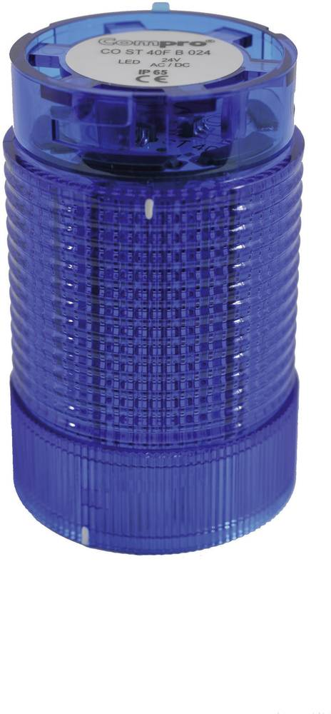 ComPro CO ST 40 BL 024 -LED Element signalnog stuba 24V DC/AC, plav IP65