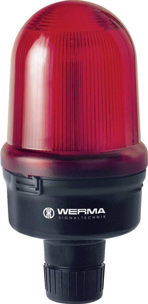 Werma Signaltechnik 829.117.55 LED-luč vrtljiva, cevna, 24 V/DC, 170 mA, rdeča