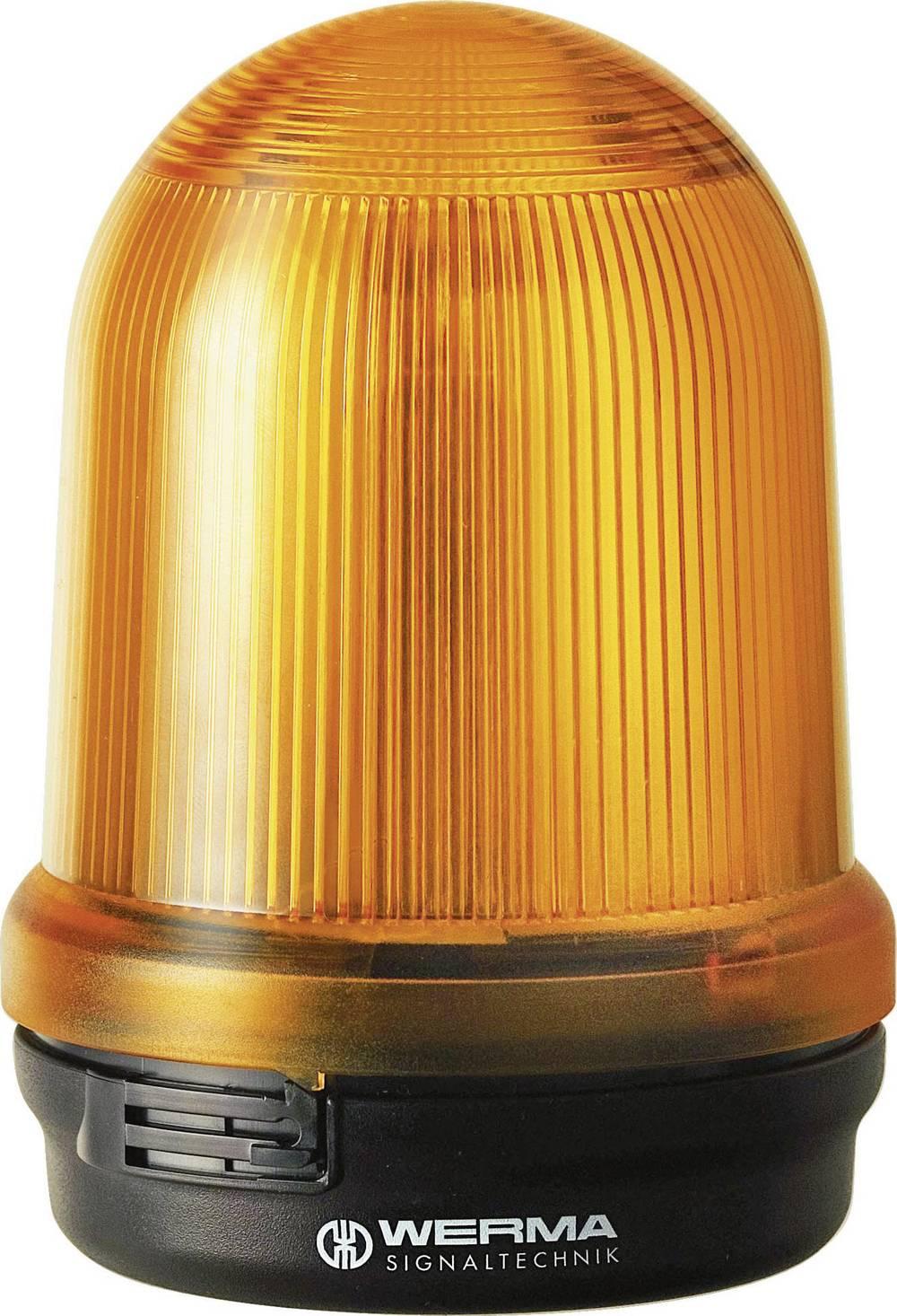 Werma Signaltechnik 829.110.68 LED-luč vrtljiva, talna, 230 V/AC, 200 mA, rdeča