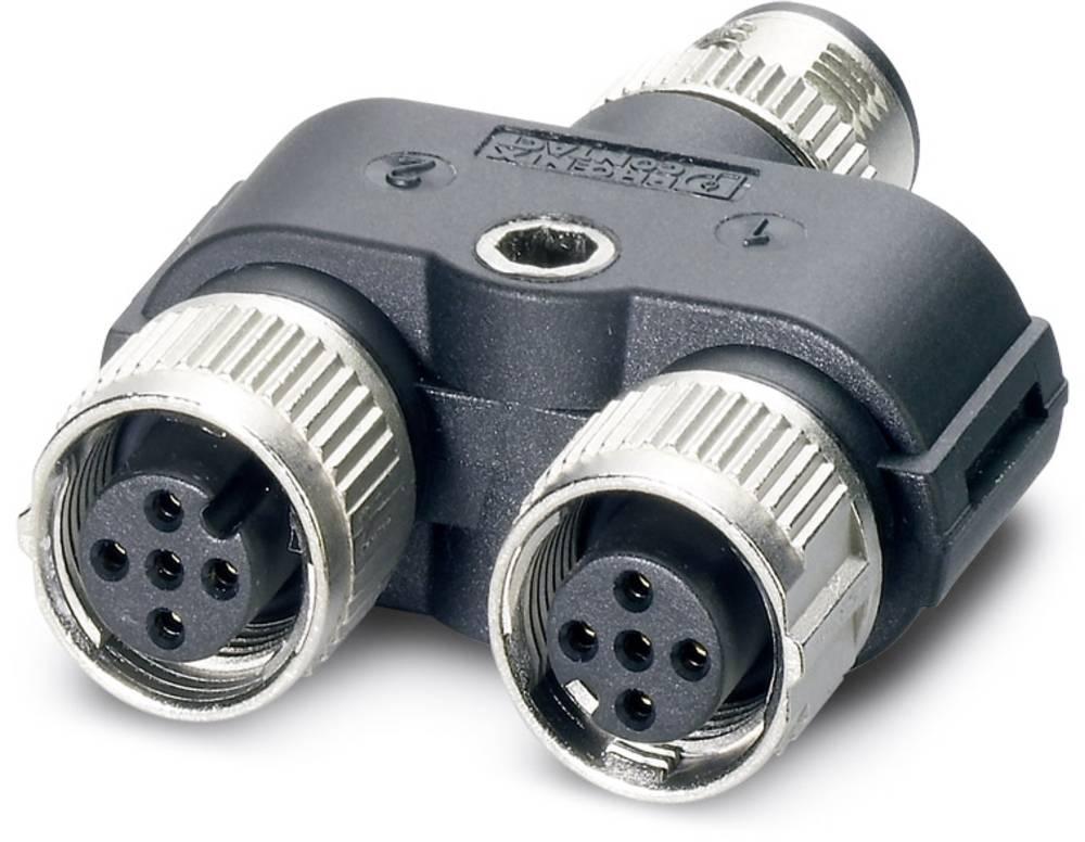 SAC-3P-M12Y/2XM12FS 3L - Y-razdelilnik SAC-3P-M12Y/2XM12FS 3L Phoenix Contact vsebuje: 5 kosov