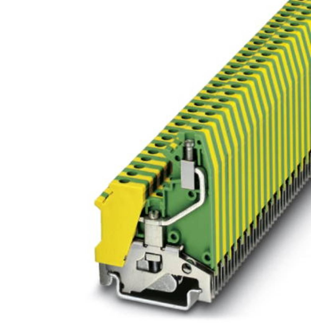 UK 5-RETURN-PE - beskyttelsesleder klemrække Phoenix Contact UK 5-RETURN-PE Grøn-gul 50 stk