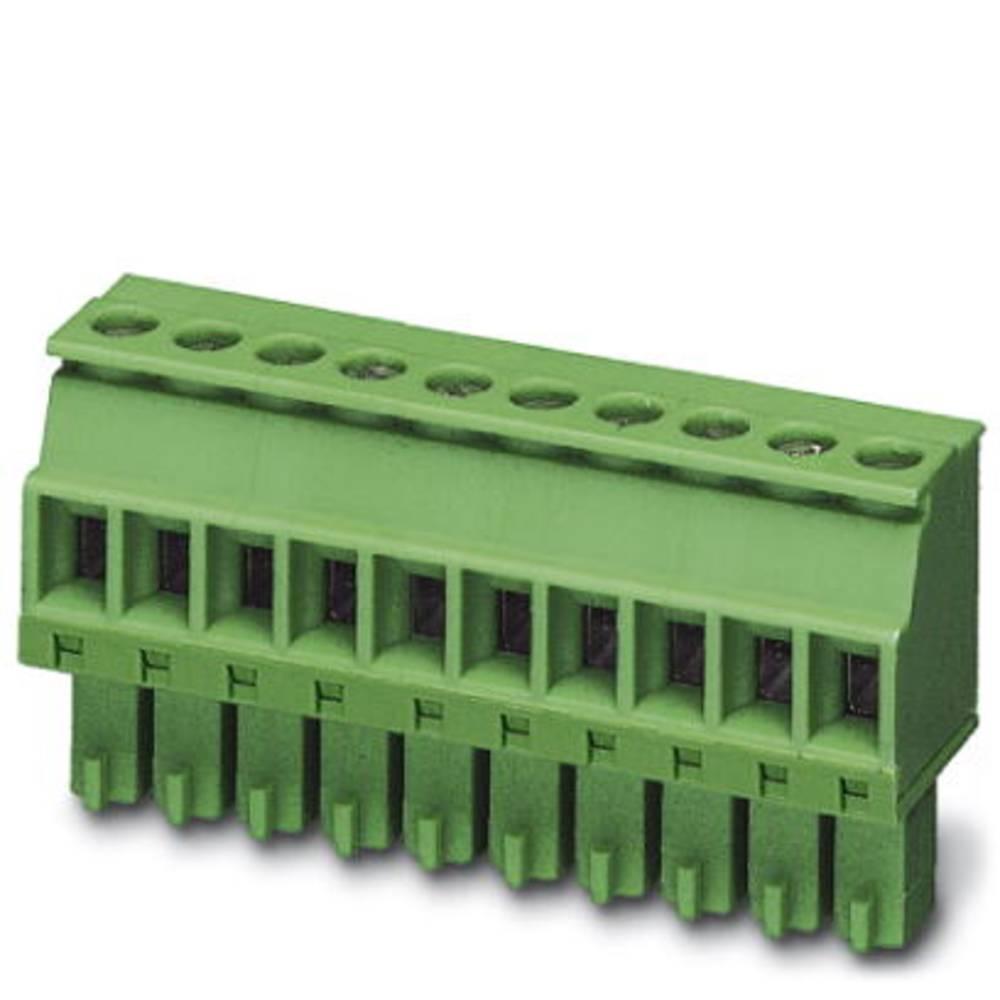 Tilslutningskabinet-kabel MCVR Samlet antal poler 10 Phoenix Contact 1827208 Rastermål: 3.81 mm 50 stk