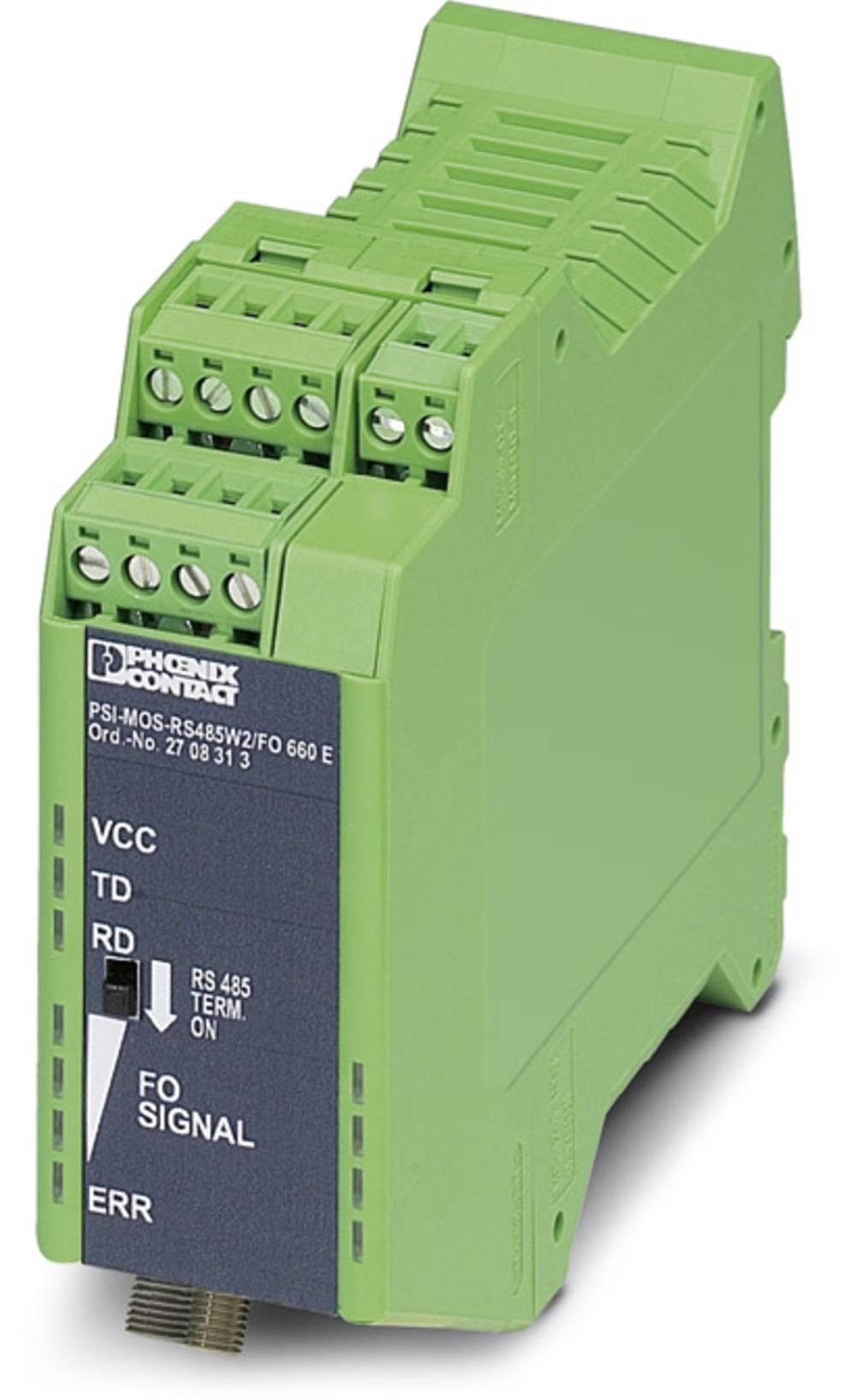 Optički pretvarač Phoenix Contact PSI-MOS-RS485W2/FO 660 E optički pretvarač