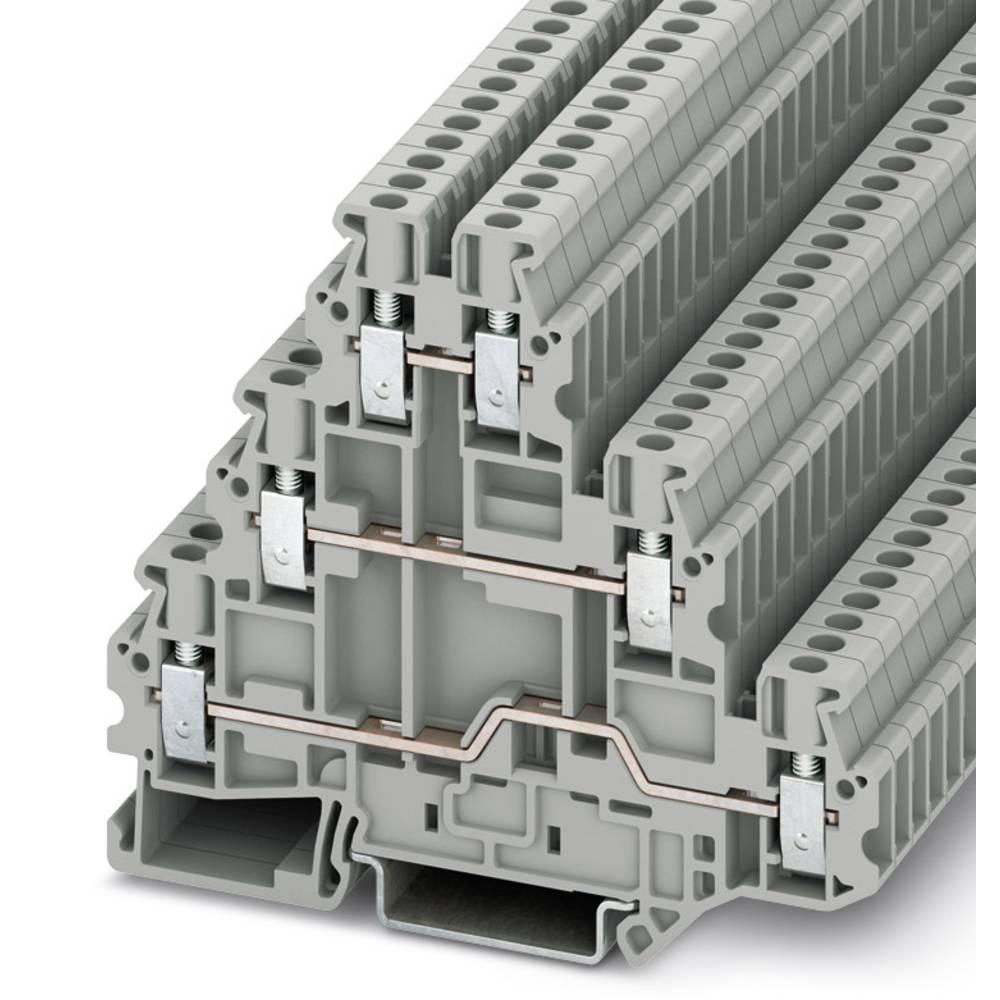 UT 2,5-3L - flere niveauer terminal Phoenix Contact UT 2,5-3L Grå 50 stk