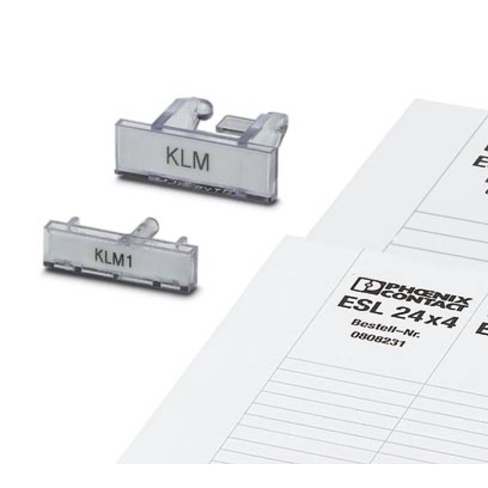 ES / KLM 2GB - Indsæt strips ES/KLM 2-GB Phoenix Contact Indhold: 10 stk