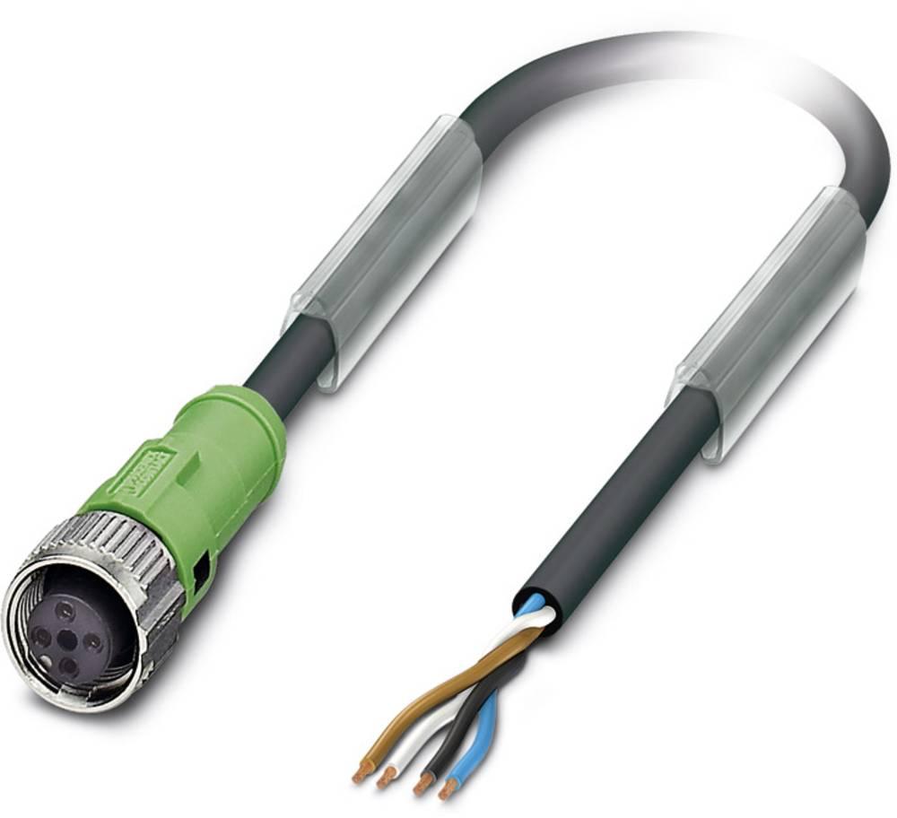 Sensor-, aktuator-stik, Phoenix Contact SAC-4P- 3,0-PUR/FS SCO 5 stk