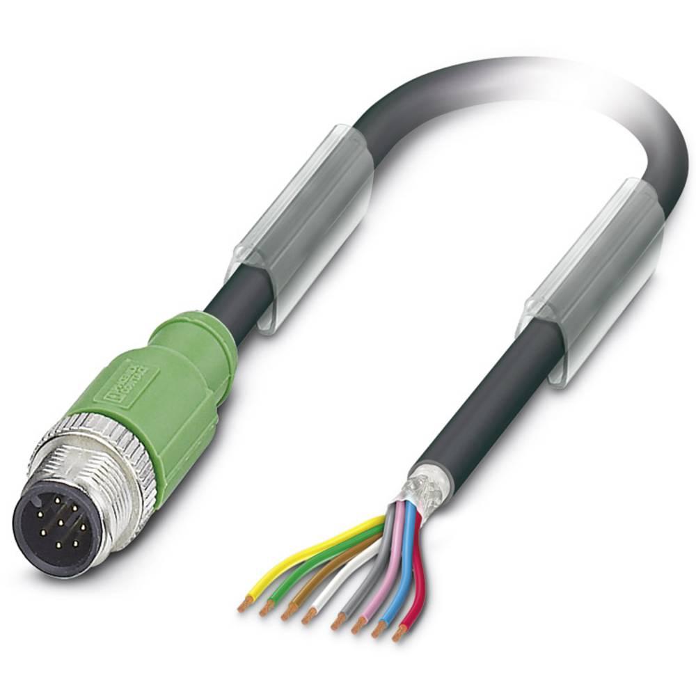 Senzorski/aktuatorski kabel SAC-8P-M12MS/ 1,5-PUR SH Phoenix Contact vsebuje: 1 kos