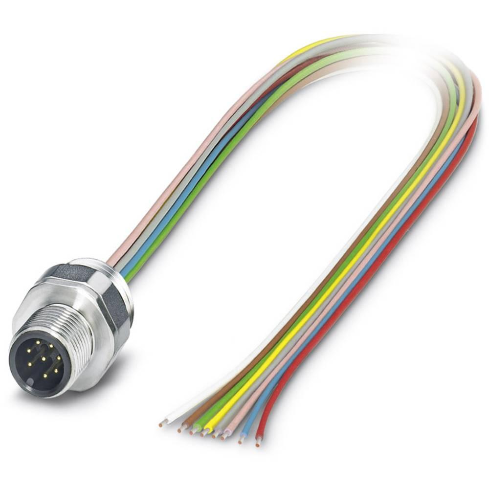 SACC-EC-M12MS-8CON-PG 9/0,5 VA - stenska vodila SACC-EC-M12MS-8CON-PG 9/0,5 VA Phoenix Contact vsebuje: 1 kos