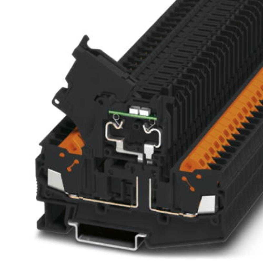 QTC 2,5 HESILA 250 (5X20) - fuse terminal Phoenix Contact QTC 2,5-HESILA 250 (5X20) Sort 50 stk