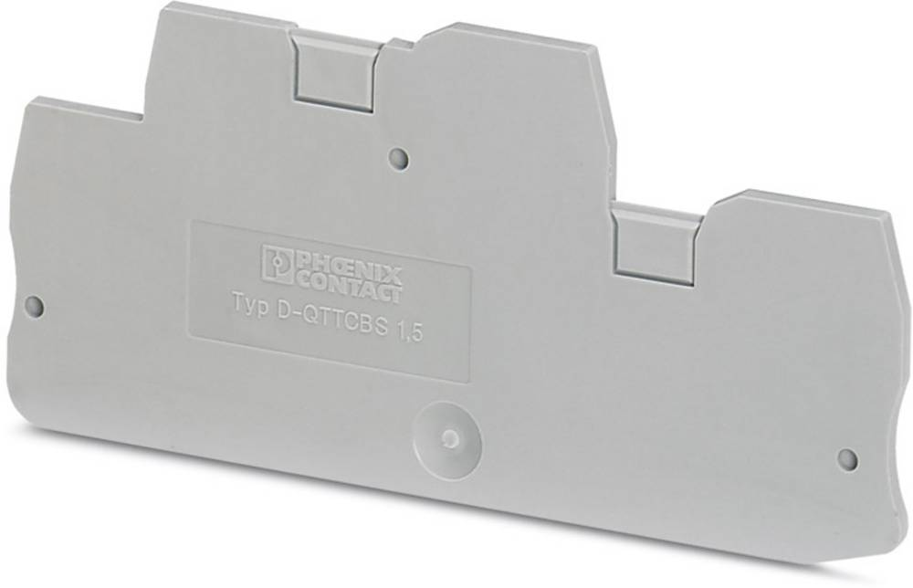 D-QTTCBS 1.5 - End cap D-QTTCBS 1,5 Phoenix Contact Indhold: 50 stk