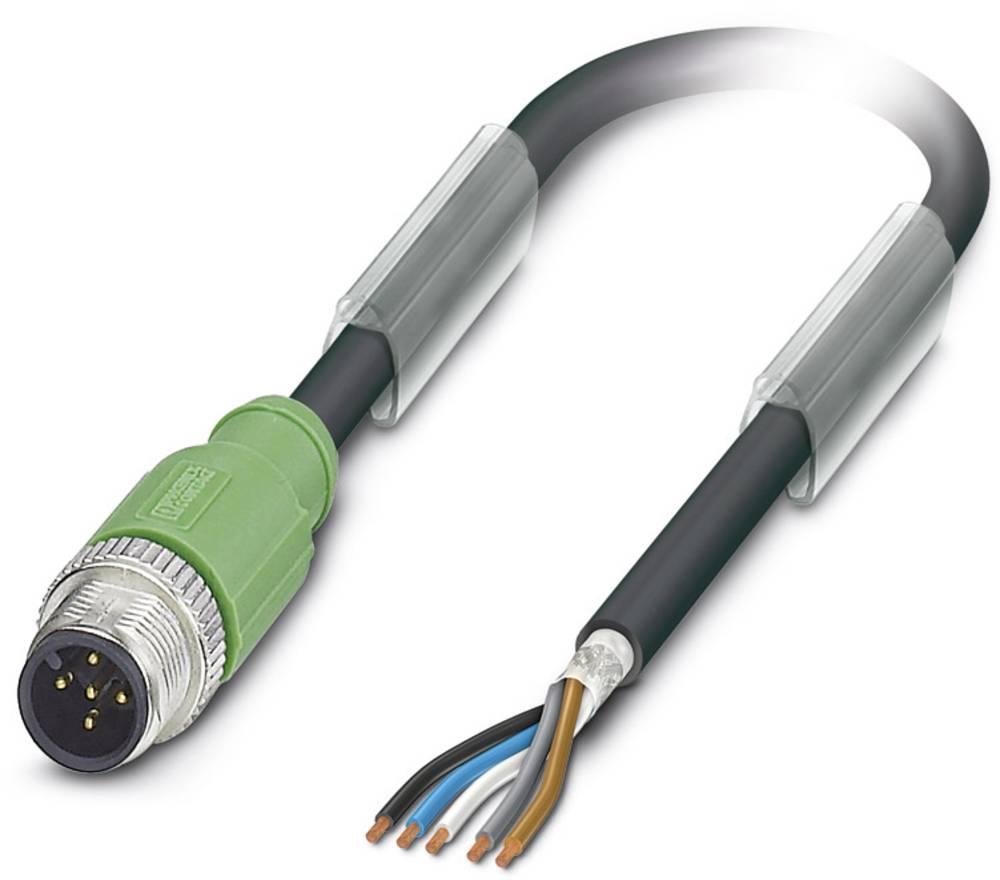 Sensor-, aktuator-stik, Phoenix Contact SAC-5P-M12MS/ 1,5-PUR SH 1 stk