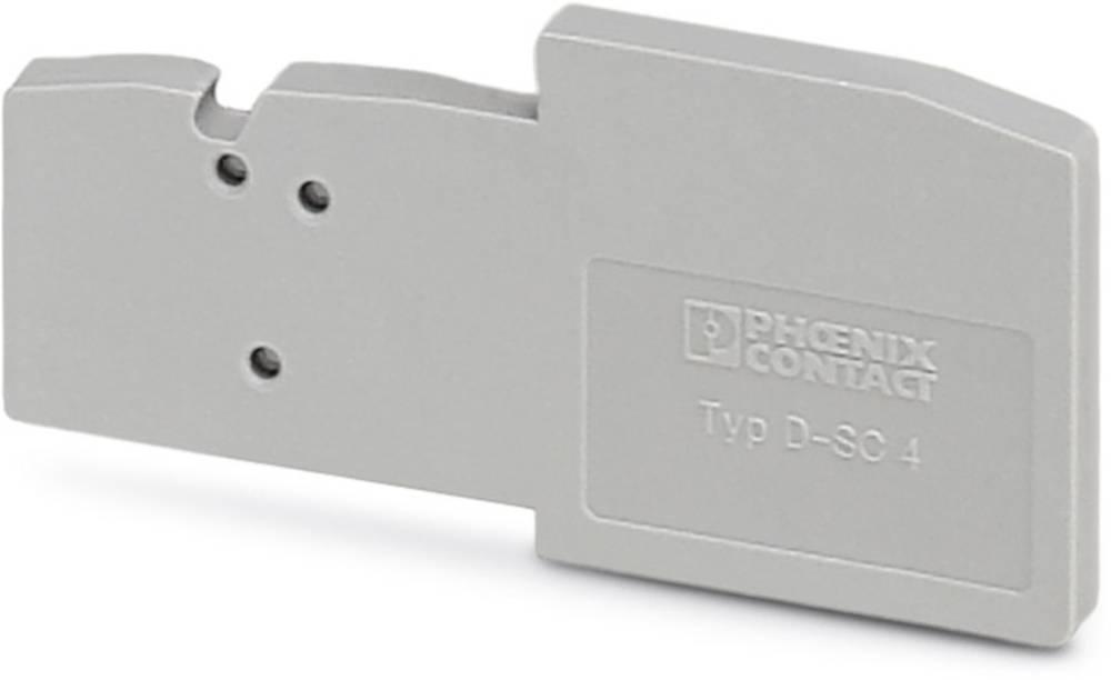 D-SC 4 - End cap D-SC 4 Phoenix Contact Indhold: 50 stk