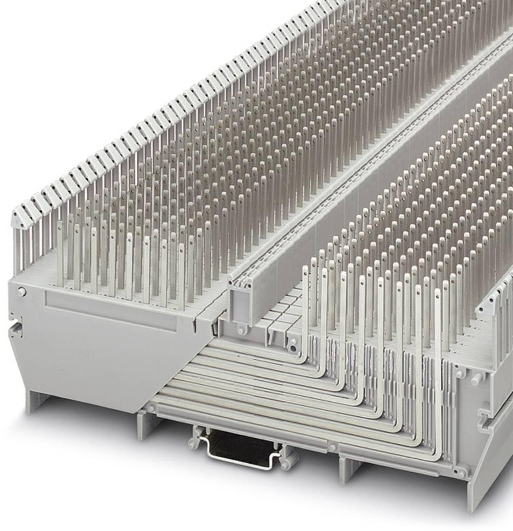 RV 8-TP (2,4X0,8) L - Rangierverbinder Phoenix Contact RV 8-TP(2,4X0,8)L Grå 5 stk