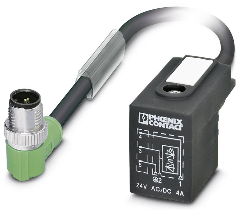 Sensor-, aktuator-stik, Phoenix Contact SAC-3P-MR/ 0,6-PUR/BI-1L-Z SCO 1 stk
