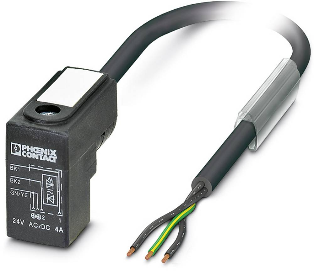 Senzorski/aktuatorski kabel SAC-3P- 3,0-PUR/C-1L-Z Phoenix Contact vsebuje: 1 kos