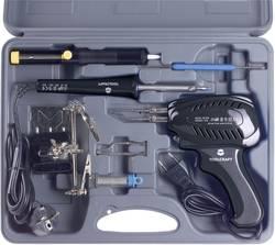 Spajkalnik-komplet, 230 V 100 W TOOLCRAFT SK 3000 s ponikljano spajkalno konico, vklj. spajkalno pištolo, vklj. z odlagalnikom,